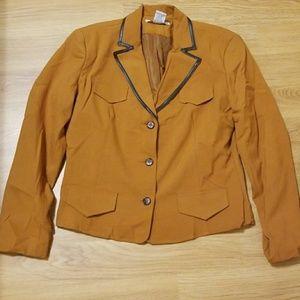 Versailles rust/Brown pants suit size 12